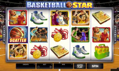 Basketball Star Free Pokie