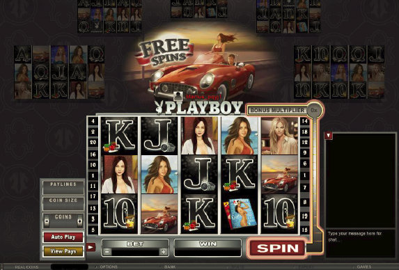 playboy multiplayer slot