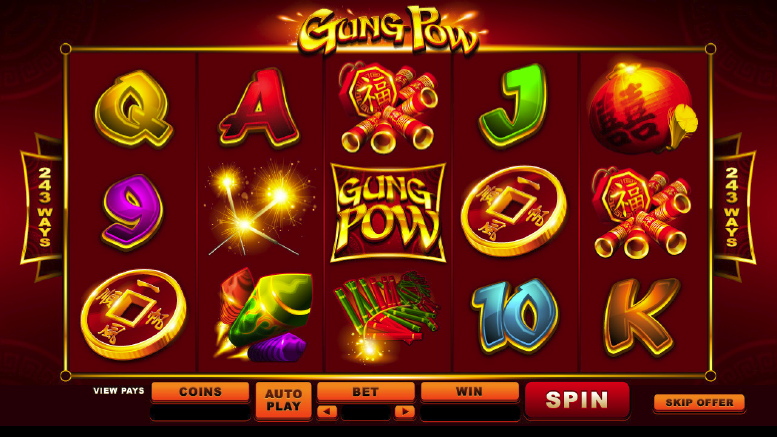 Gung Pow Online Slot The Pokies King